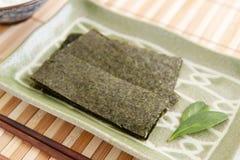 Ιαπωνικά ξηρά φύκια στοκ εικόνες με δικαίωμα ελεύθερης χρήσης