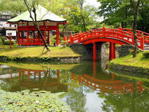 ιαπωνικά πάρκα Στοκ εικόνες με δικαίωμα ελεύθερης χρήσης