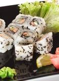 ιαπωνικά σούσια κουζίνας Στοκ Φωτογραφίες