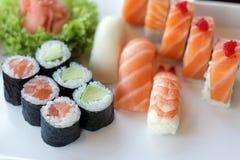 ιαπωνικά σούσια παραδοσ&io Στοκ Φωτογραφία