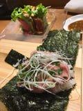 Ιαπωνικά σούσια τροφίμων στοκ εικόνα με δικαίωμα ελεύθερης χρήσης