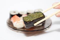 ιαπωνικά σούσια στοκ εικόνες