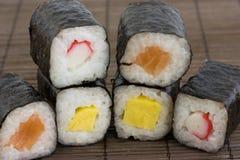 ιαπωνικά σούσια Στοκ Εικόνα