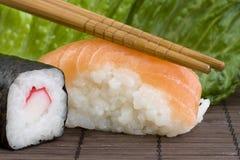 ιαπωνικά σούσια Στοκ φωτογραφία με δικαίωμα ελεύθερης χρήσης