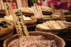 Ιαπωνικά συντηρημένα τρόφιμα Στοκ φωτογραφία με δικαίωμα ελεύθερης χρήσης