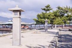 Ιαπωνικά φανάρια πετρών Στοκ φωτογραφίες με δικαίωμα ελεύθερης χρήσης