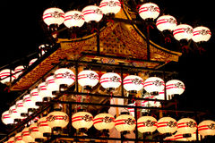 Ιαπωνικά φανάρια σε Takayama, Κιότο Στοκ Φωτογραφία