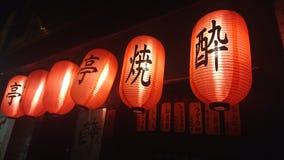 ιαπωνικά φανάρια Στοκ εικόνα με δικαίωμα ελεύθερης χρήσης