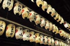 ιαπωνικά φανάρια Στοκ Εικόνα