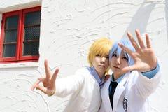 Ιαπωνικά cosplay κορίτσια Στοκ εικόνα με δικαίωμα ελεύθερης χρήσης