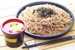 Ιαπωνικά noodles φαγόπυρου Στοκ Εικόνες