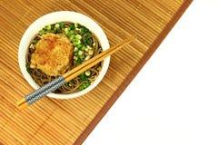 Ιαπωνικά noodles soba Στοκ φωτογραφίες με δικαίωμα ελεύθερης χρήσης