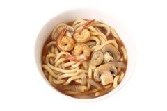 ιαπωνικά noodles udon στοκ εικόνα με δικαίωμα ελεύθερης χρήσης
