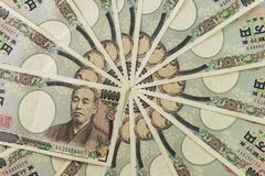 ιαπωνικά yens Στοκ φωτογραφία με δικαίωμα ελεύθερης χρήσης