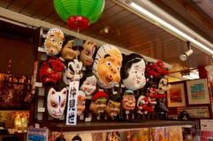 ιαπωνικές μάσκες Στοκ Εικόνες