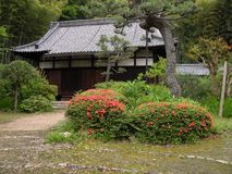 ιαπωνική αγροτική αυλή Στοκ φωτογραφίες με δικαίωμα ελεύθερης χρήσης