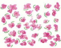 Υπόβαθρο ανθών κερασιών άνοιξη Γαμήλια τυπωμένη ύλη Ιαπωνική απεικόνιση λουλουδιών ύφους διανυσματική απεικόνιση