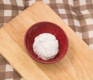 Ιαπωνική βιομηχανία ζαχαρωδών προϊόντων της φράουλας Daifuku ή Ichigo Mochi Στοκ φωτογραφία με δικαίωμα ελεύθερης χρήσης