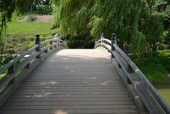 Ιαπωνική γέφυρα Στοκ εικόνα με δικαίωμα ελεύθερης χρήσης
