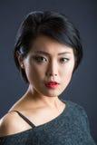 Ιαπωνική γυναικεία σκέψη Στοκ Εικόνες