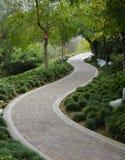 ιαπωνική διάβαση πεζών κήπων Στοκ φωτογραφίες με δικαίωμα ελεύθερης χρήσης