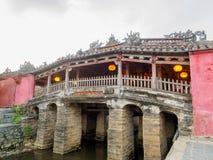 Ιαπωνική καλυμμένη γέφυρα σε Hoi μια αρχαία πόλη, Βιετνάμ στοκ φωτογραφίες με δικαίωμα ελεύθερης χρήσης