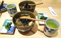 Ιαπωνική κουζίνα Chazuke Congree στοκ εικόνες