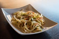 Ιαπωνική κουζίνα Yaki Udon Στοκ φωτογραφία με δικαίωμα ελεύθερης χρήσης