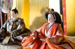 Ιαπωνική κούκλα Στοκ εικόνες με δικαίωμα ελεύθερης χρήσης