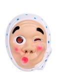 Ιαπωνική μάσκα προσώπου Στοκ Φωτογραφίες