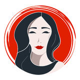 Ιαπωνική μόδα γυναικών Στοκ εικόνες με δικαίωμα ελεύθερης χρήσης