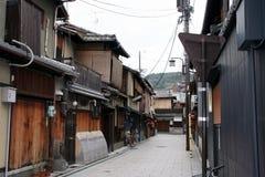 ιαπωνική οδός παραδοσια&k Στοκ Φωτογραφίες