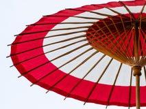 ιαπωνική ομπρέλα εγγράφο&upsi Στοκ φωτογραφία με δικαίωμα ελεύθερης χρήσης