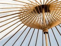 ιαπωνική ομπρέλα εγγράφο&upsi Στοκ Εικόνες