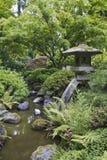ιαπωνική πέτρα φαναριών Στοκ εικόνα με δικαίωμα ελεύθερης χρήσης