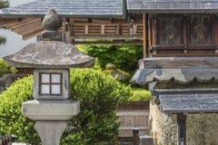 ιαπωνική πέτρα φαναριών Στοκ φωτογραφία με δικαίωμα ελεύθερης χρήσης