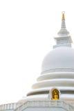 Ιαπωνική παγόδα ειρήνης, Unawatuna Σρι Λάνκα Στοκ εικόνες με δικαίωμα ελεύθερης χρήσης