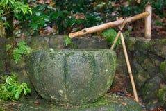 Ιαπωνική πηγή Στοκ εικόνα με δικαίωμα ελεύθερης χρήσης