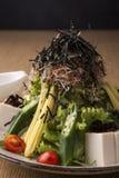 ιαπωνική σαλάτα Στοκ φωτογραφία με δικαίωμα ελεύθερης χρήσης