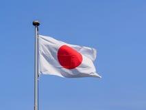 Ιαπωνική σημαία Στοκ φωτογραφίες με δικαίωμα ελεύθερης χρήσης