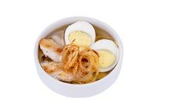 Ιαπωνική σούπα soba Στοκ Εικόνα