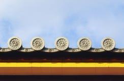 Ιαπωνική στέγη Στοκ Εικόνες