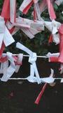 Ιαπωνικοί κόμβοι προσευχής Στοκ φωτογραφία με δικαίωμα ελεύθερης χρήσης