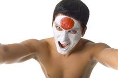 ιαπωνικός γυμνός ανεμιστή&r Στοκ εικόνα με δικαίωμα ελεύθερης χρήσης