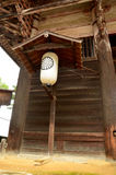 Ιαπωνικός εξοπλισμός φωτισμού φαναριών ή λαμπτήρων παραδοσιακός στοκ εικόνα με δικαίωμα ελεύθερης χρήσης