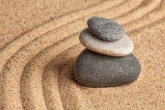 Ιαπωνικός κήπος πετρών της Zen Στοκ φωτογραφίες με δικαίωμα ελεύθερης χρήσης