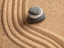 Ιαπωνικός κήπος πετρών της Zen Στοκ Φωτογραφία