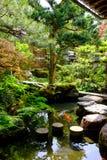 Ιαπωνικός κήπος σε Kanazawa, Ιαπωνία Στοκ Εικόνες