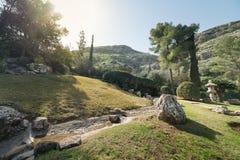 Ιαπωνικός κήπος σε Kibbutz Hephzibah Στοκ φωτογραφία με δικαίωμα ελεύθερης χρήσης