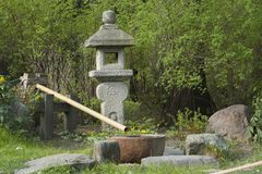 Ιαπωνικός κήπος στη Μόσχα στοκ εικόνες